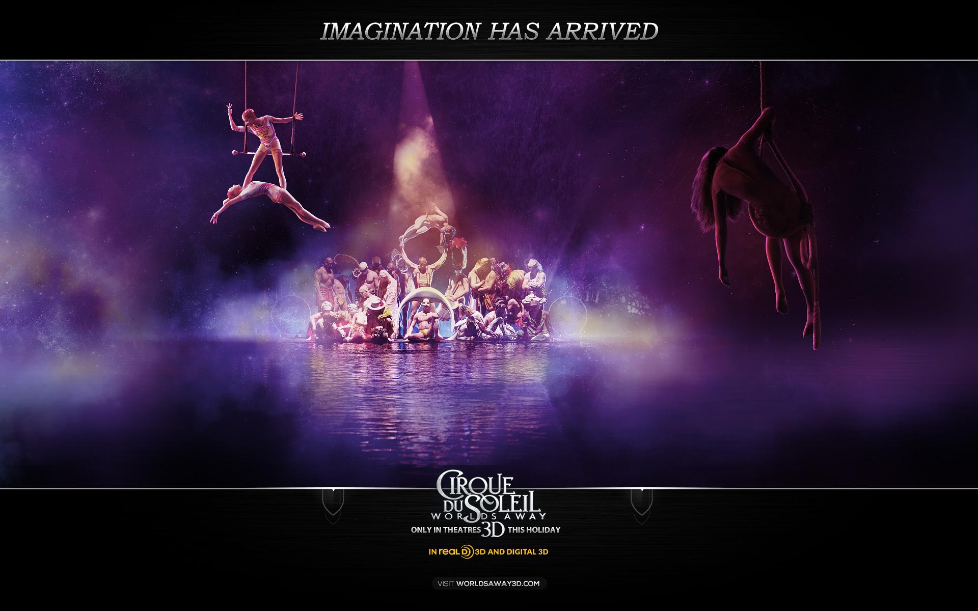 Цирк дю солей сказочный мир 2012