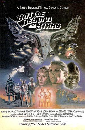 Постер «Битвы за пределами звезд»
